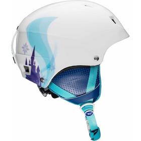 Rossignol Comp casco Bambino bianco/turchese